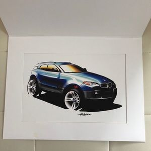 BMW 3 Series Limited Edition Print